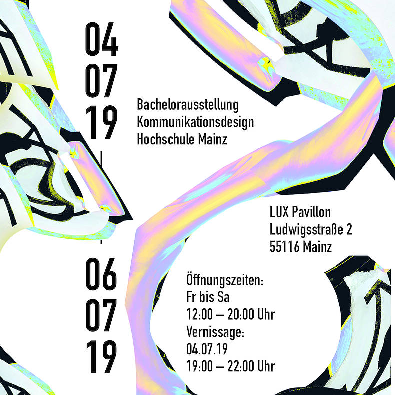 Bachelorausstellung »FLUX«